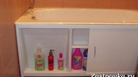 Экран под ванну. Применение, виды, установка и цена экрана для ванны