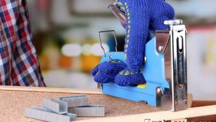 Степлер строительный. Описание, особенности, применение и цена степлера