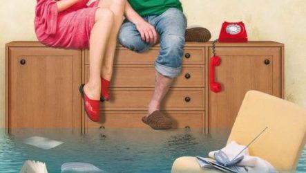 Что делать если затопили соседи сверху?