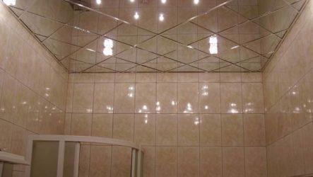 Какой потолок сделать в ванной?
