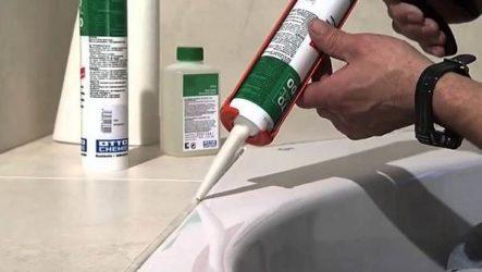 Герметик для ванны. Описание, особенности, виды и применение герметика для ванны