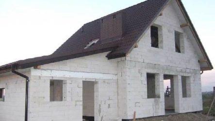 Дом из пеноблока-плюсы и минусы