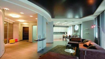 Сатиновый натяжной потолок. Описание, особенности, виды и цена сатинового потолка