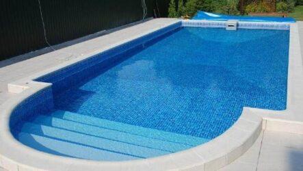 Строительство открытых бассейнов, их виды, плюсы и минусы