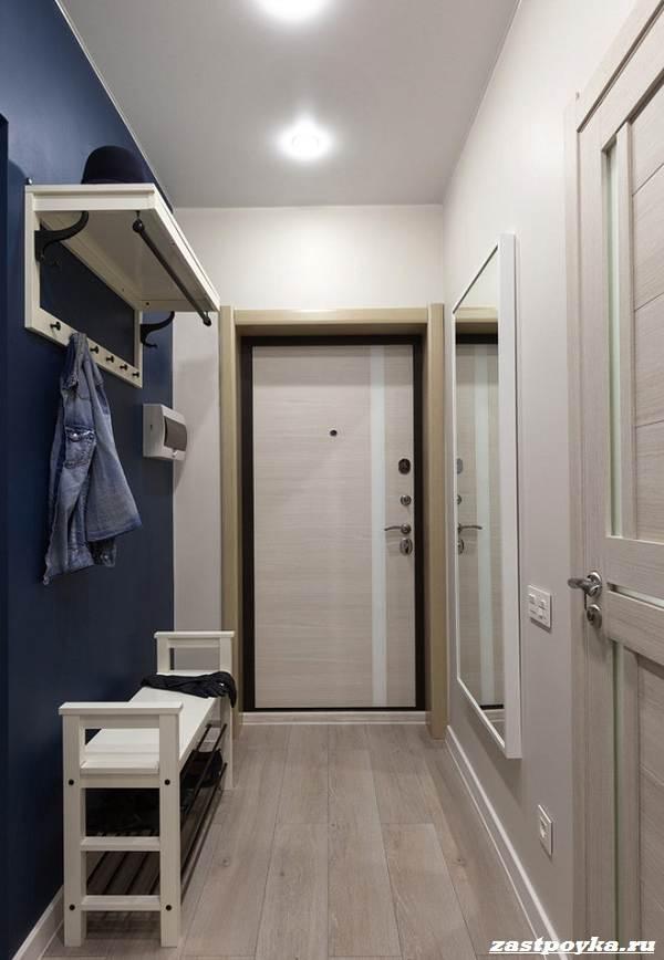 Ремонт коридора: обои, освещение и покрытие для пола